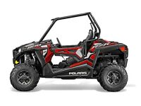 2015 Polaris RZR 900 EPS Trail Sunset Red