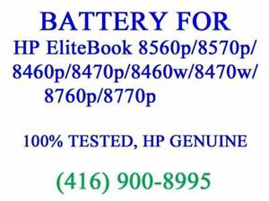 Genuine HP 6-Cell Battery for EliteBook 8560p/8570p/8460p/8470p/8460w/8470w/8760p/8770p