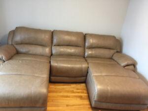 Sofa en cuir - À vendre
