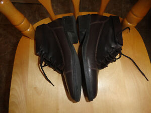Leather Brown Boots - Size 7