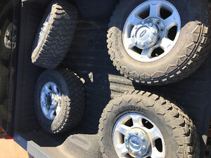 285/70R17 Super Duty Wheels