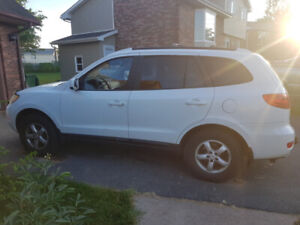 SOLD   --  2009 Santa Fe GLS - White 165k