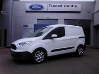 NEW Ford Transit Courier, 1.6TDCi 95PS, Trend, White + A/C & Alloys - Onsite