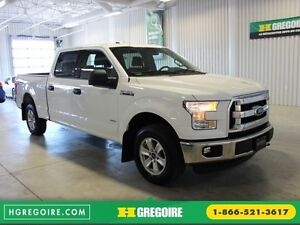2016 Ford F150 XLT Ecoboost 4X4 CREW (Mags-Cam-Bluetooth)