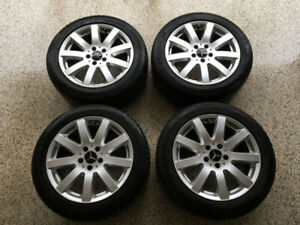 "Mercedes Benz OEM 17"" Wheels"