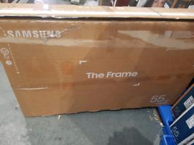 Samsung 55 frame qled high spec model smart tv