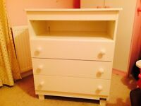 BEBECAR TRAMA nursery chest of drawers