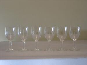 Glasses : 6-pce Stemware