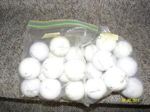Golf balls mixed brands.$4.00 per dozen