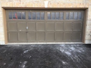 16' x 7' Wood Insulated Garage Door