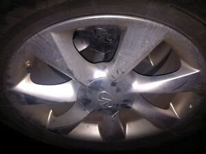 17 Inch Original Infiniti Rims with Winter tires