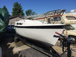 Impecably Clean lightly used Sailboat