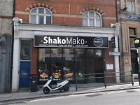 SHAKOMAKO TAKEAWAY FOR RENT - PRIME LONDON LOCATION - BRAND NEW INTERIOR - CHEAP RENT