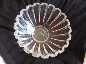 Villeroy & Boch Crystal Bowl Signed West Island Greater Montréal image 1
