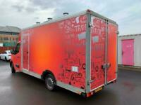 VAUXHALL MOVANO MOBILE KITCHEN/CATERING/BURGER/FOOD TRUCK/COFFEE/ VAN FOR SALE
