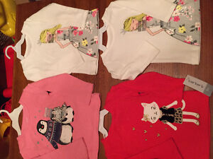 New! Carters long sleeve shirts. Size 6,9,18 and 24 mths Kitchener / Waterloo Kitchener Area image 2