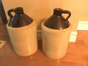 Vintage whiskey jugs  London Ontario image 1