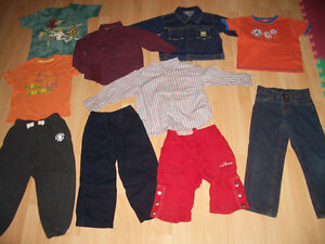 LOT - 24 - items of clothes for baby - BOY --- size 3 - 4