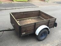 Factory built Ireland trailer 5ft by 3ft 6""