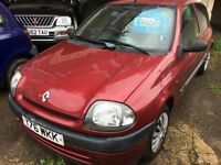 RENAULT CLIO GRANDE 1.2 IDEAL 1ST DRIVER FULL HISTORY EXCELLENT CONDITION