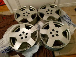 18 in. CHEVROLET mags good condition