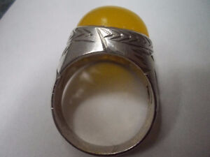 Yellow Agate Silver Ring Windsor Region Ontario image 3
