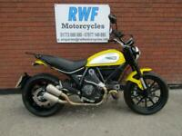Ducati Scrambler 800 2015, 65 REG, ONLY 2 OWNERS & 6,916 MILES, MINT COND
