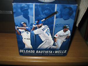 BLUE JAYS TRIO BOBBLEHEAD
