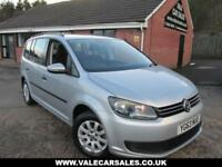 2013 63 VOLKSWAGEN TOURAN 1.6 S TDI BLUEMOTION TECHNOLOGY 5D 103 BHP DIESEL