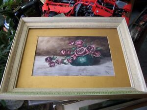 Antique E Ross Painting