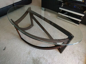 Boat Glass Coffee Table