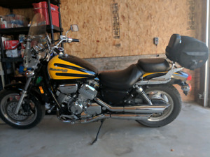 1998 Honda Magna 750 Located Rolling Hills trades for car