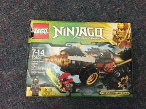In Box Lego Ninjago COLE'S EARTH DRILLER
