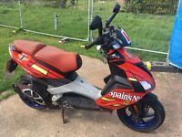 Aprilia SR50 Twist & Go Moped