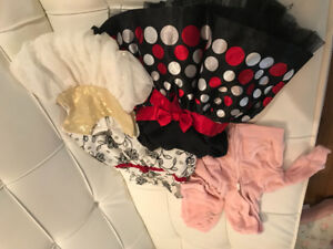 0 - 6 baby's girls clothes and accessories