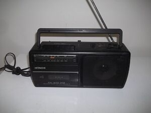 Radio With Cassette Player