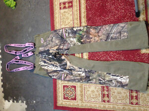 Pink Hunting Camo Insulated Coverall Pants