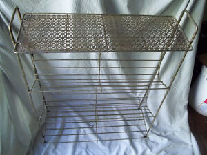 Solid Brass Filigree Rack