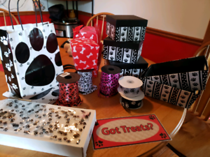 Paw / dog themed packaging