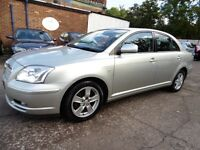 Toyota Avensis 1.8 VVT-I T3-X (1 OWNER + FULL LEATHER SEAT + 12 MONTH MOT) (aluminium/silver) 2004