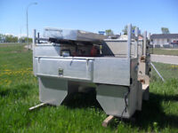"Used Short Box ""Quest"" All Aluminum Drop In unit Calgary Alberta Preview"