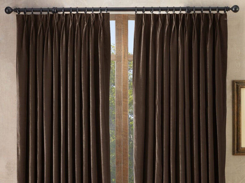 How to Sew French Pleat Curtains