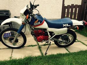 1987 Honda XL600r