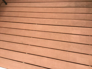Composite decking approx. 200 sq. Ft plus