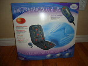 6 Motor Massing Cushion with Heat & Hand Remote for car/home