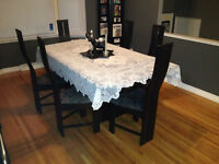 Dinning Room table- 6 person