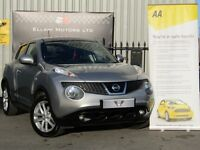 Nissan Juke 1.6 ACENTA CVT (silver) 2012