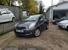 2007 Toyota Yaris 1.3 VVT-i TR 1 KEEPER, 2 YEAR WARRANTY PACKAGE
