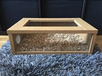 Small Wooden Reptile Vivarium - Snakes, Lizards etc