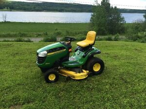 D140 jd mower